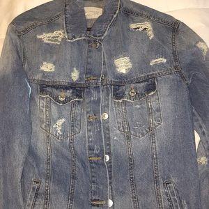 TILLY'S Long jean jacket